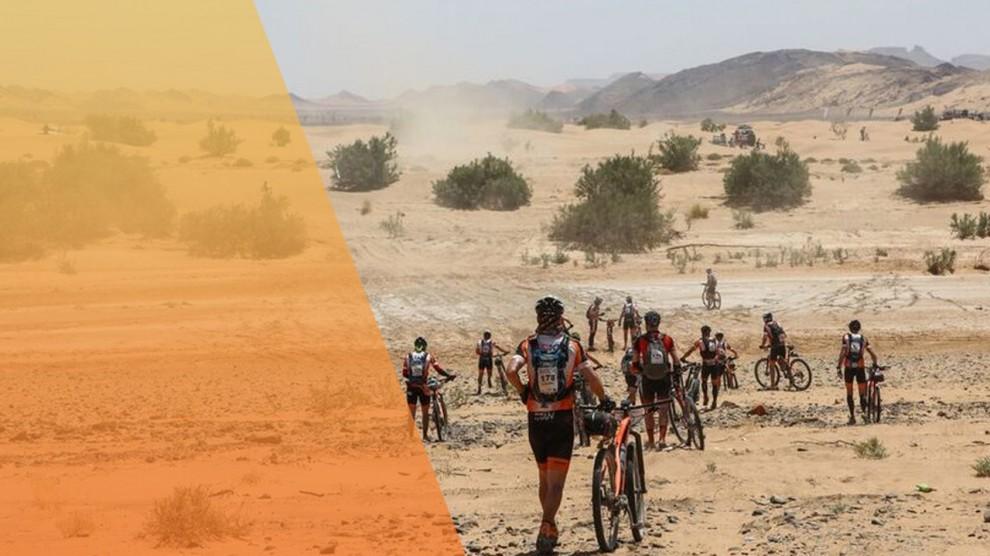 cuarta etapa de la Titan Desert