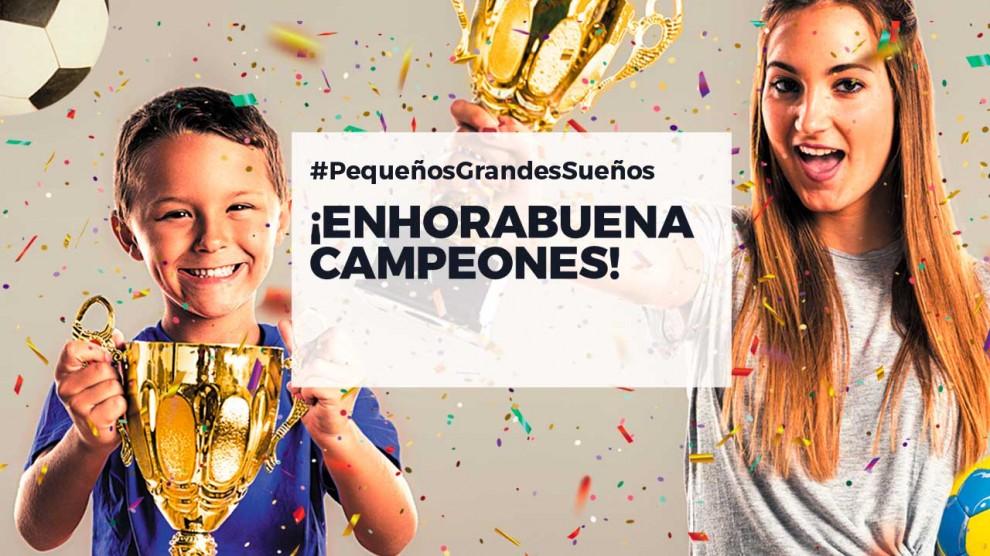 ¡Ya conocemos los ganadores de Grandes Campeones!